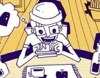 """¡Caos!"" - Independient comic book"