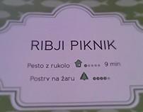 """Greš in ješ"" - a cookbook for picnics"