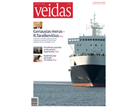 VEIDAS magazine (diploma work)