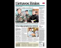 LIETUVOS ŽINIOS newspaper
