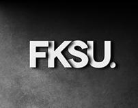 Logo design for FKSU Creative.