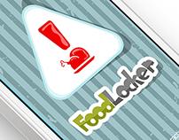 FoodLocker - iPhone App