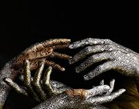 Damask Hands