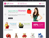 Gift Store, Magento Responsive Bottstrap Shopping Theme