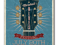 2013 Marshall Blues Festival