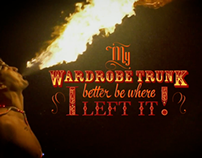 The Winter Quarters - Animated Circus Typography