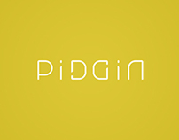 PiDGiN Vancouver: Typography - Brand and Logo design