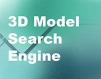Graduate research part 2: 3D model search engine