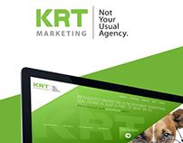 KRT Marketing Website Redesign