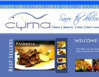 Cyma Restaurants Website