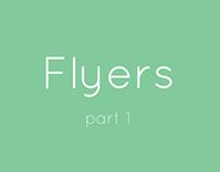 Flyers, part 1