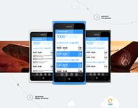 promo site - App for Windows Phone 7