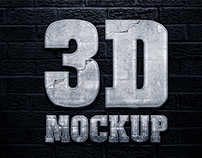 Photorealistic 3D Mockup