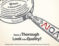 Leaflets for A1QA.com