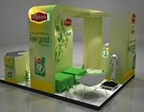 Lipton Green Tea work