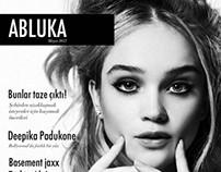 Magazine Design - Abluka