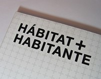 """Habitat + Habitante"" Photobook"