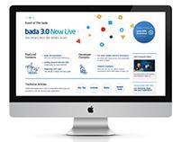 bada 3.0 website renewal