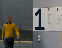 HfG Karlsruhe Leitsystem