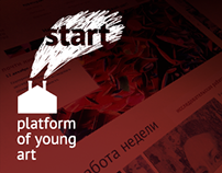 Start: platform of young art