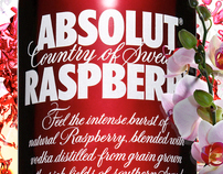 Absolut Raspberry Comp