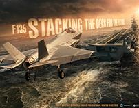 Pratt & Whitney - F-35 - CV Poster