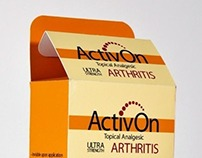 ActivOn (Corporate Identity Board & Packaging)