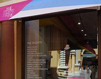 The Talent Store 2.0 - Concept Store Graphic Design