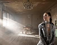 Promtional images created for singer Natalia Starzynski