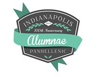 Indianapolis Alumnae Panhellenic Logo Concepts