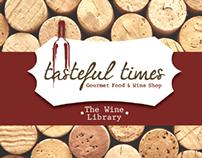 Tasteful Times Wine Club Brochure