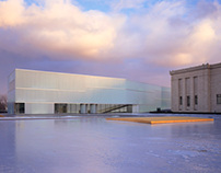 The Bloch Building at the Nelson-Atkins Museum of Art