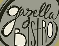 Gazella Bistro Identity