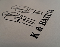 K & Batina shoe box - Caixa de Sapatos K & Batina