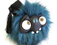 Bouncing BuBu heads (Art toy)