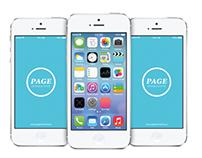 iOS 7 HOME SCREEN | FREE PSD