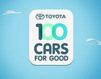 TOYOTA 100 CARS FOR GOOD