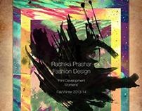 Print/Pattern Development Fall/Winter 13-14