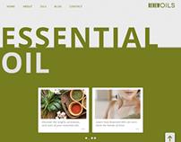 Essential Oil Template