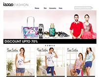 iZood Fashion Website
