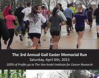 Gail Easter Memorial Run Postcard