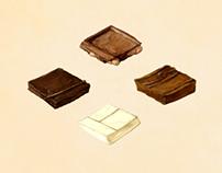 Carte de CHOCOLAT