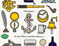 Olympians album artwork