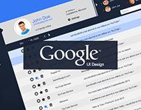 Google Mail - UI Design