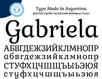 Gabriela Cyrillic- Free Google Web Font