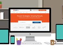 Designer Desk Branding and Web Mockup