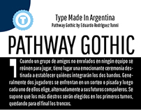 Pathway Gothic - Free Google Web Font