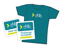 Moda Bike Commute Challenge promotional materials