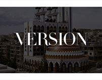 VERSION MAGAZINE | App Visual Concept Pitch