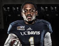 UC Davis Football - Photoshoot